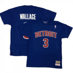 Tee Name Number Detroit...