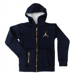 Hoodie Full Zip Metal Man Kid