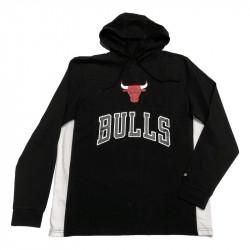 a786e0a6151 Hoodie Leggera Bulls NBA Contrast Panel