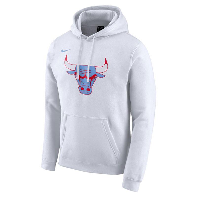 Felpa con cappuccio Brooklyn Nets City Edition Logo Nike NBA Uomo
